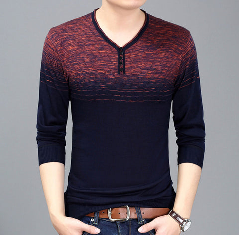 Mens Gradient Sweater - AmtifyDirect