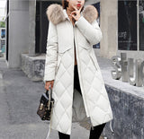 Womens Hooded Zip Up Coat