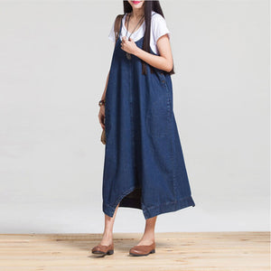 Womens Two Way Denim Dress
