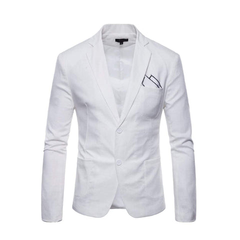 Mens Casual Linen Blazer - Choose From 7 Colors!