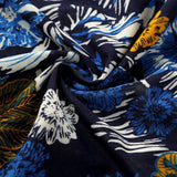 Mens Blue Floral Shirt - AmtifyDirect