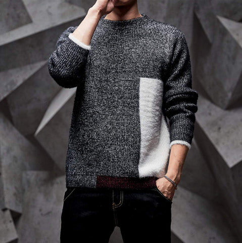 Mens Round Neck Sweater