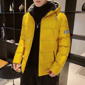 Mens Puffer Jacket With Hood
