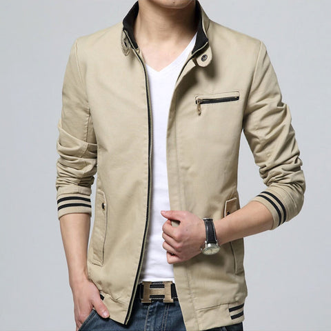 Mens Short Zip-Up Jacket