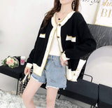 Womens Casual Button Down Cardigan