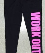 Womens Fun Work Out Leggings