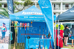 Hornet launches its new SUP Graphic Paddle Series at the Carolina Cup