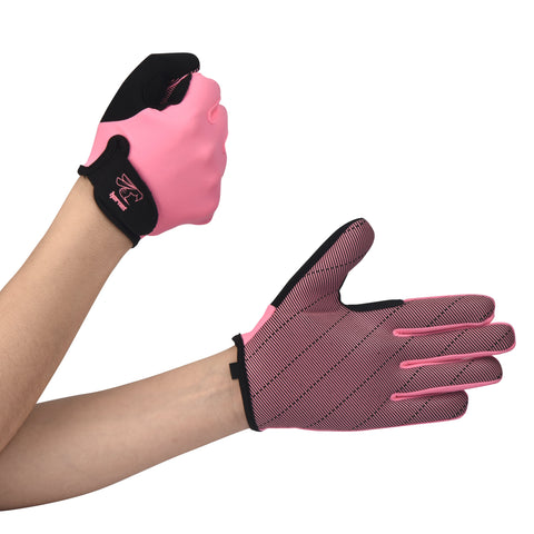 NEW Full Finger Light Pink Paddling Gloves Ideal for Dragon Boat, SUP, OC  and other Watersports