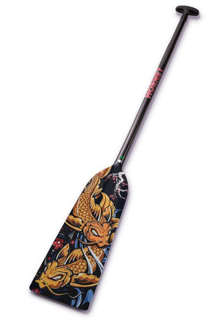 Sakura Koi Fish Hornet STING G16 Dragon Boat Paddle IDBF Approved Available in Fixed  or Adjustable Length with Design on Both Sides