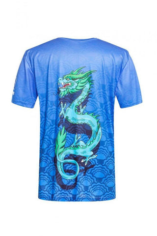Blue Dragon Short Sleeve Shirt
