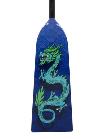 K1 BLUE DRAGON DESIGN Hornet RAGE Dragon Boat Paddle