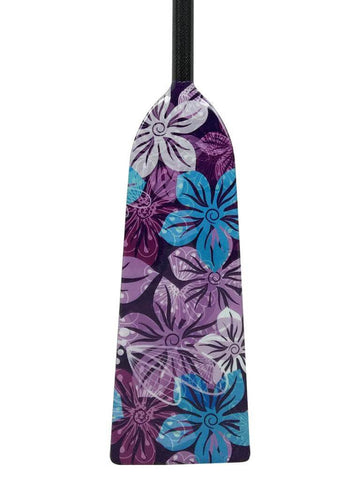 K12 PURPLE FLOWERS DESIGN Hornet RAGE Dragon Boat Paddle