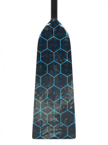 K13 BLUE HEX DESIGN Hornet RAGE Dragon Boat Paddle