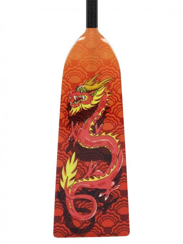 K3 ORANGE DRAGON DESIGN Hornet RAGE Dragon Boat Paddle