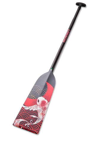 Koi Fish Hornet STING G14 Dragon Boat Paddle IDBF Approved Available in Fixed or Adjustable Length with Design on Both Sides