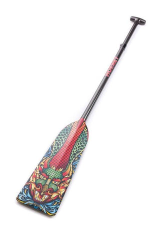 God of Water Hornet STING G15 Dragon Boat Paddle IDBF Approved Available in Fixed or Adjustable Length with Design on Both Sides