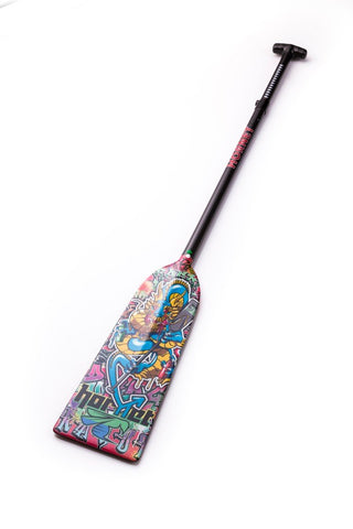 Graffiti Dragon Hornet STING G8 Dragon Boat Paddle IDBF Approved Available in Fixed  or Adjustable Length with Design on Both Sides