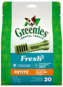 GREENIES: Fresh Mint Petite 340g