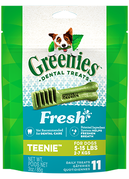 Greenies Fresh Mint Teenie