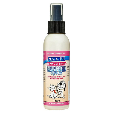 Fido's Fresh Spritzer Spray for Puppies 125ml
