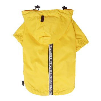 Puppia Sports Base Jumper Raincoat - Yellow