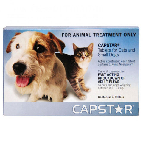 Capstar Blue. For Cats and Small Dogs. 0.5-11kg