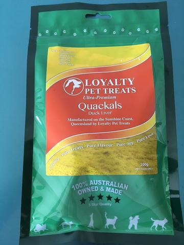 Loyalty Pet Treats Quacklas 100g