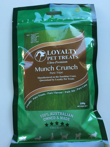 Loyalty Pet Treats Munch Crunch 100g