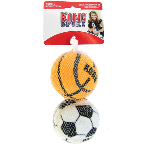 KONG - Large Assorted Sports Balls 2PK