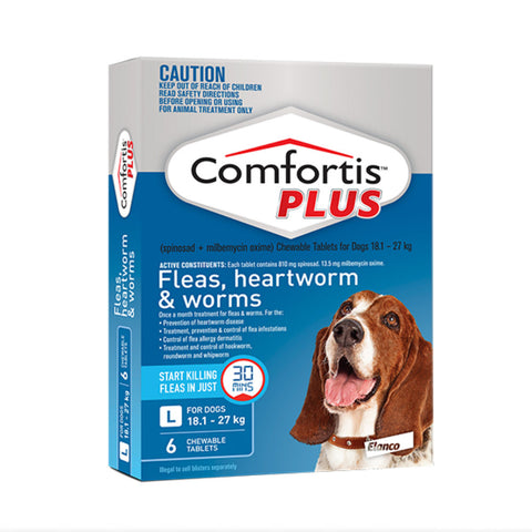 Comfortis Plus Blue - For Dogs 18.1-27kg