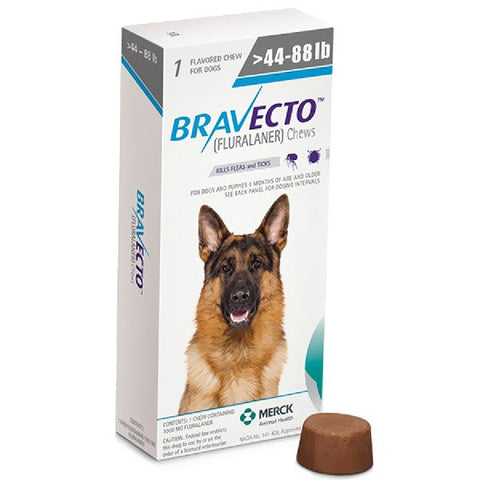 Bravecto Chewable Tablet for Large Dogs