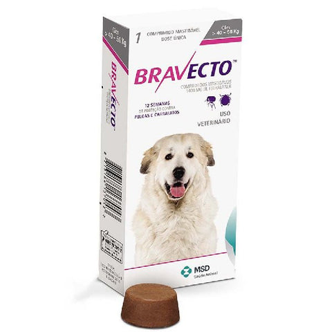 Bravecto Chewable Tablet for Extra Large Dogs
