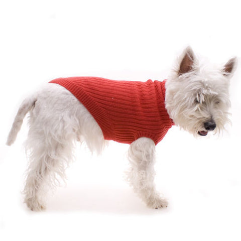 Hamish McBeth Red Knit Dog Jumper