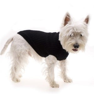 Hamish McBeth Black Knit Dog Jumper