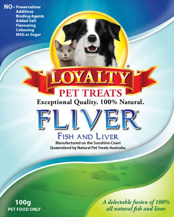 Loyalty Pet Treats Fliver 100g