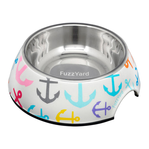 FuzzYard Ahoy! Easy Feeder Dog Bowl