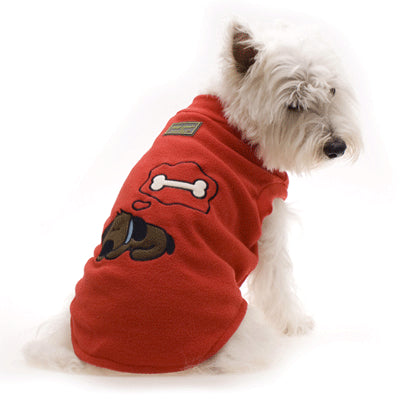 Hamish McBeth Sleeping Dog Pyjamas RED