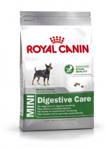 Royal Canin - Adult Mini Small Breed Digestive Care Dry Food 2kg