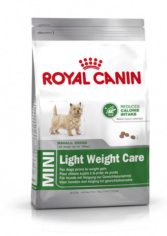 Royal Canin - Adult Mini Small Breed Light Weight Care Dry Food 2kg