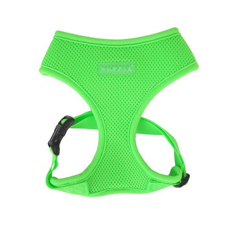 Puppia Soft Harness - Neon Green
