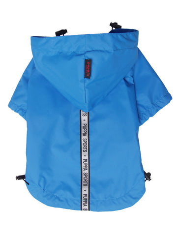 Puppia Sports Base Jumper Raincoat - Blue XL