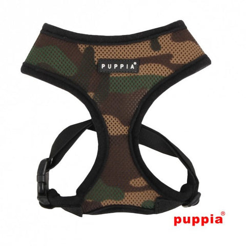Puppia Soft Harness - Camo