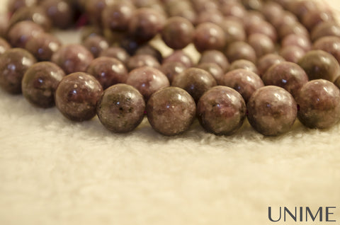 Unime Pink Tourmaline Gemstone Beads