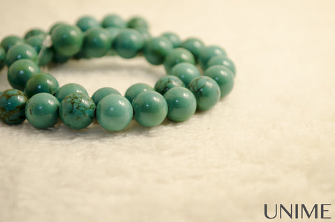 Unime Blue Turquoise gemstone beads