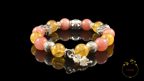 Successo – Successful Citrine and Sunstone Bracelet