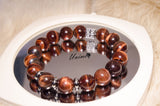 Unisex Red Tiger Eye bracelet