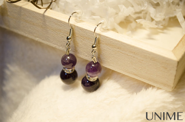 Amethyt Earrings