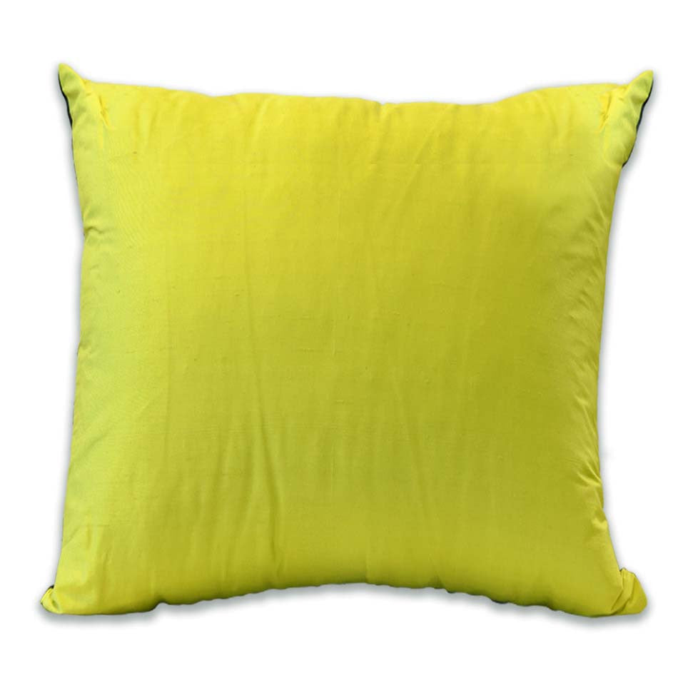 Palm Springs Black/Citrus Cushion