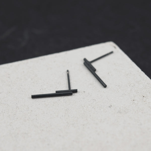 Tube linear Earrings N°4