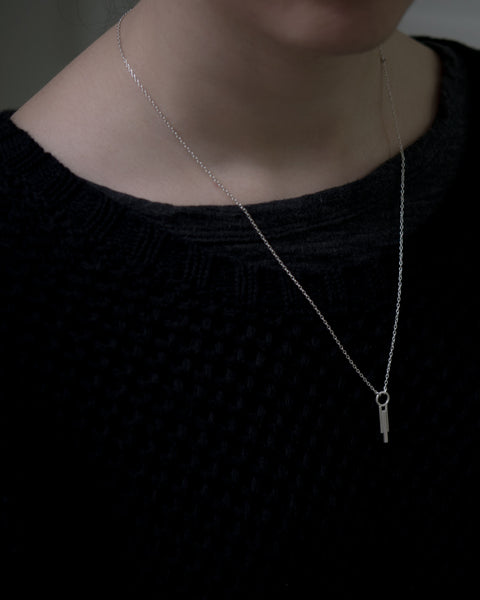 Cylindrical necklace N°7